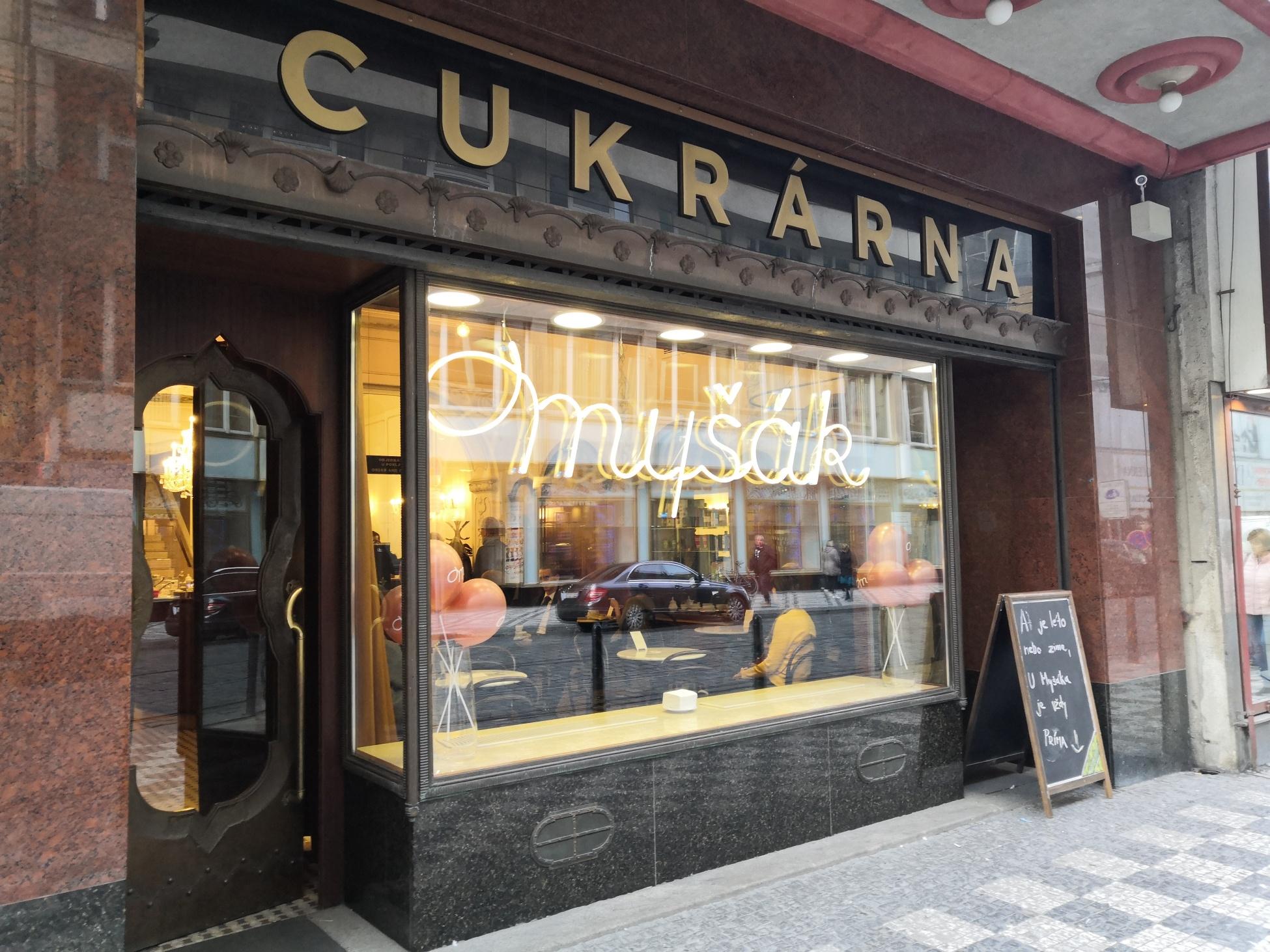 nejlepší kavárny, hodnocení kaváren, cukrárna myšák