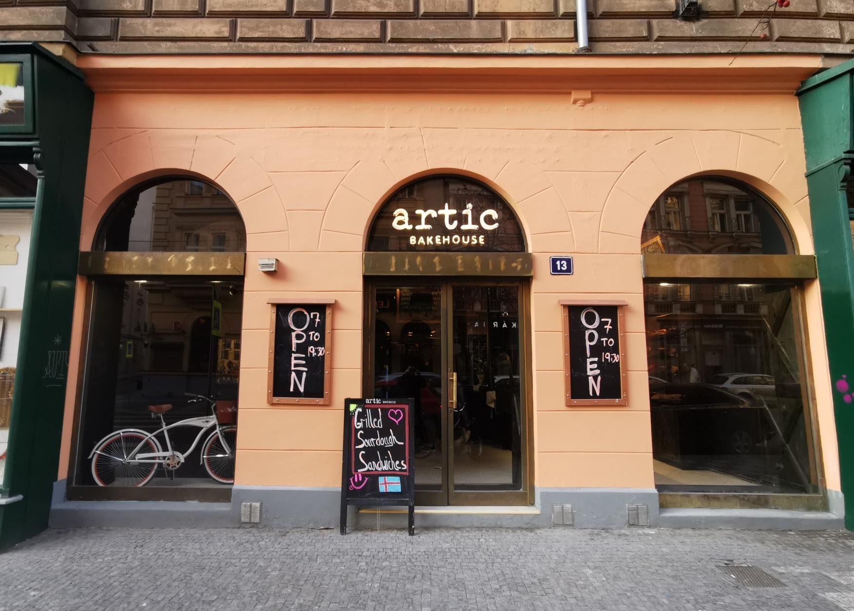 Pekárna, Artic bakehouse, pražská pekárna
