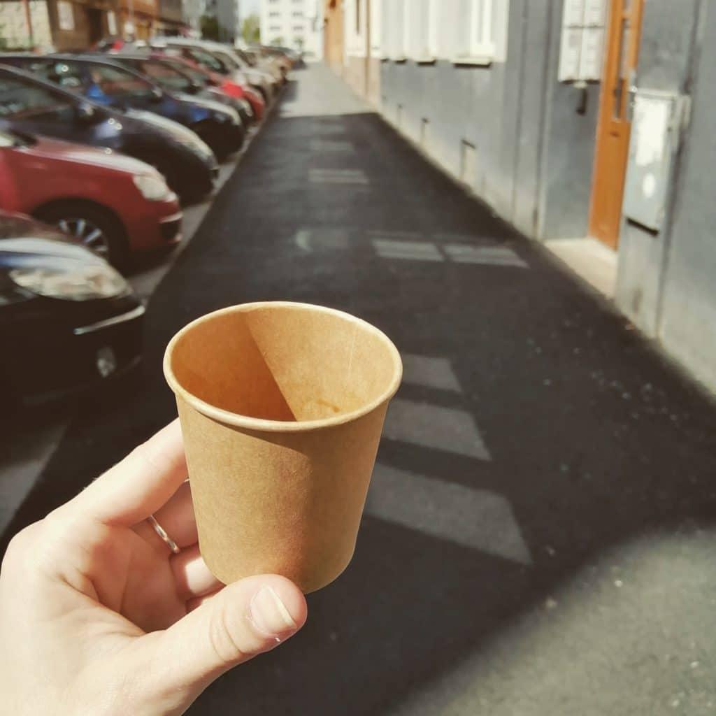 káva, espresso