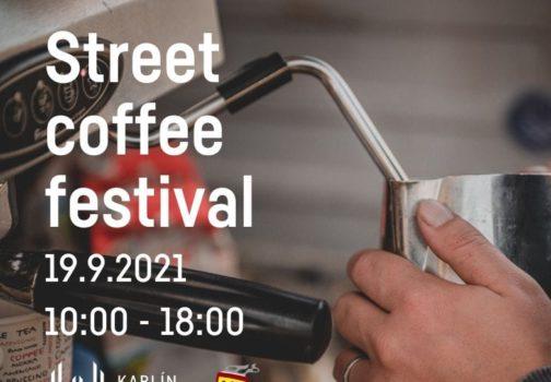 Street coffee festival   Karlín Market